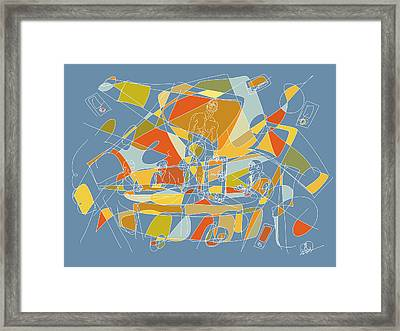 Subjection Of Privacy Framed Print by Hal Nymen