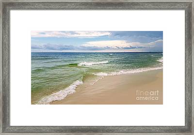 Sublime Seashore  Framed Print