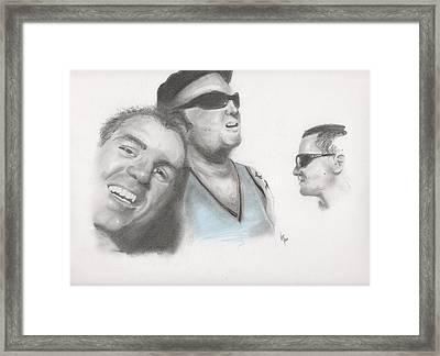Sublime Trio Framed Print by Matt Burke