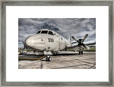 Submarine Hunter Framed Print