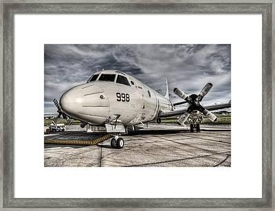 Submarine Hunter Framed Print by Ryan Wyckoff