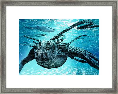 Submarine Framed Print