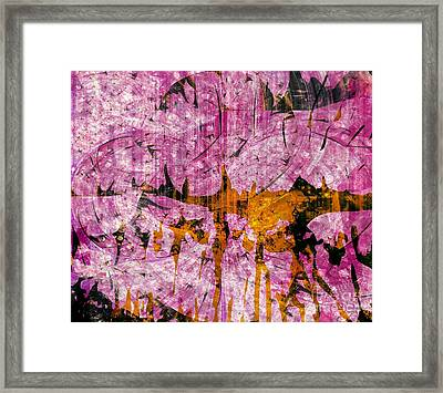 Submit A Dance   Framed Print