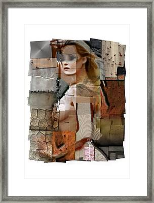 Substance Framed Print by Tommy Charles