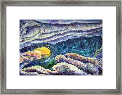 Subterranean Journey Framed Print by Lee Nixon