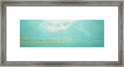Framed Print featuring the painting Subtle Atmosphere by Jaison Cianelli