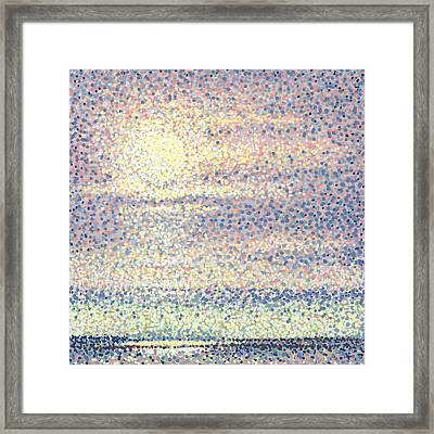 Subtle Beauty Framed Print by Rebecca Bangs