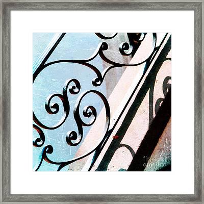 Subtle Southern Pattern Framed Print