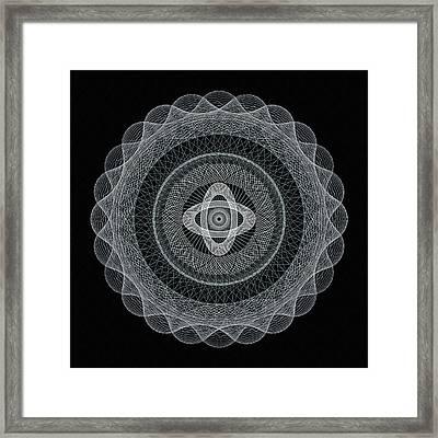 Subtle Zen Framed Print