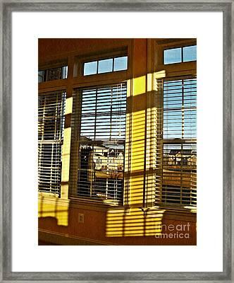 Suburbia Usa Framed Print