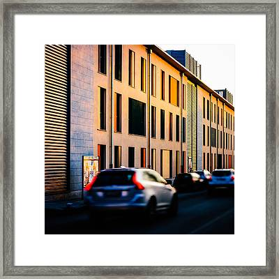 Suburbs Framed Print by Cesare Bargiggia