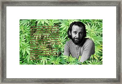 Subversive Politics Are Our Only Salvation Framed Print by Pd