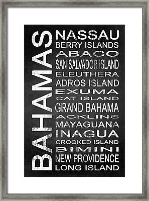 Subway Bahamas 1 Framed Print by Melissa Smith