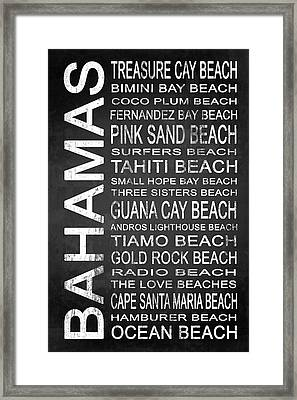 Subway Bahamas 2 Framed Print by Melissa Smith