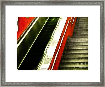 Subway  Framed Print by Emilio Lovisa
