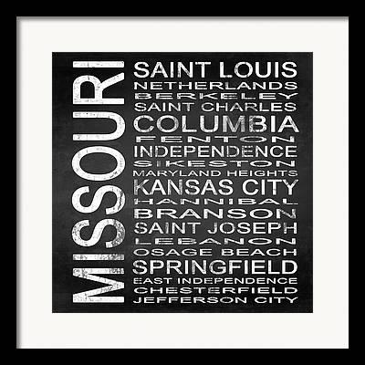 Saint Joseph Mixed Media Framed Prints