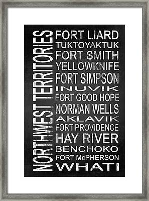 Subway Northwest Territories Canada 1 Framed Print by Melissa Smith