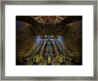 Framed Print featuring the photograph Subway by Stefan Nielsen