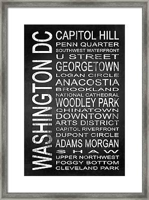 Subway Washington Dc 1 Framed Print by Melissa Smith
