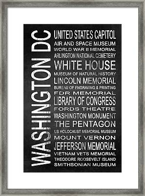 Subway Washington Dc 2 Framed Print by Melissa Smith