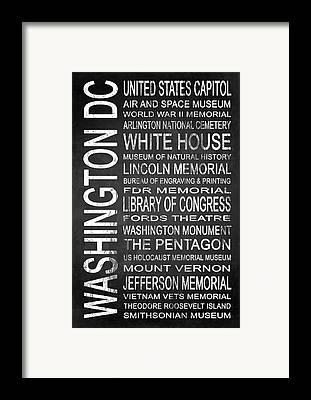 Smithsonian Museum Framed Prints