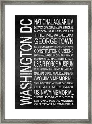 Subway Washington Dc 4 Framed Print by Melissa Smith
