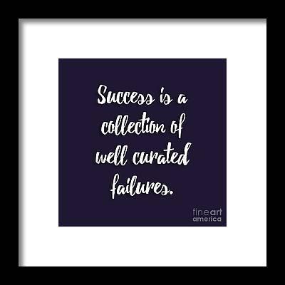 Success Framed Prints