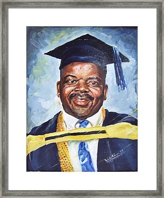 Success Framed Print by Wale Adeoye