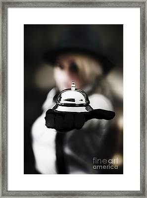 Successful Customer Service Framed Print by Jorgo Photography - Wall Art Gallery