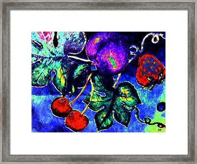 Succulence Framed Print by Will Borden