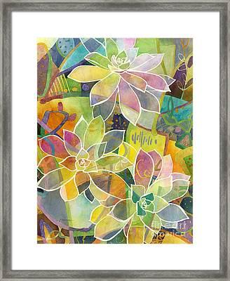 Succulent Mirage 1 Framed Print