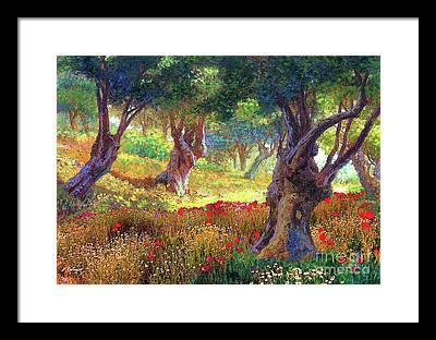 Crete Framed Prints