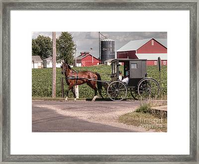 Such Grace - Such Serenity Framed Print