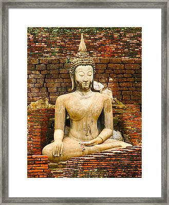 Sucuthai Buddha Framed Print