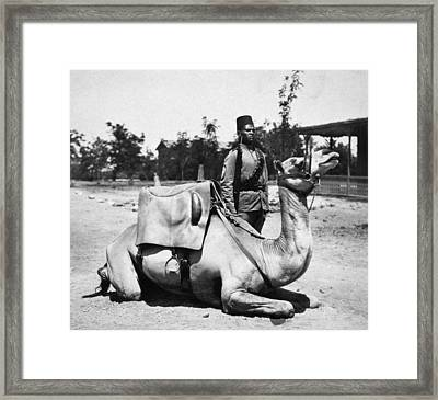 Sudan: Colonial Soldier Framed Print by Granger