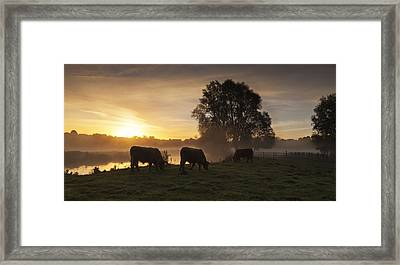 Sudbury Highlands Framed Print by Ian Merton
