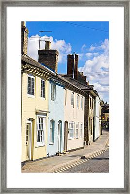 Sudbury Houses Framed Print