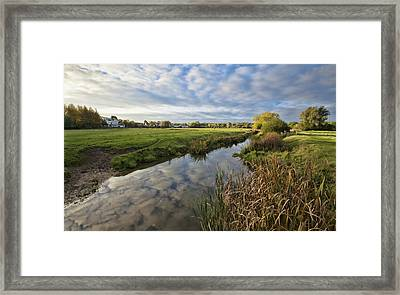 Sudbury River Framed Print by Ian Merton