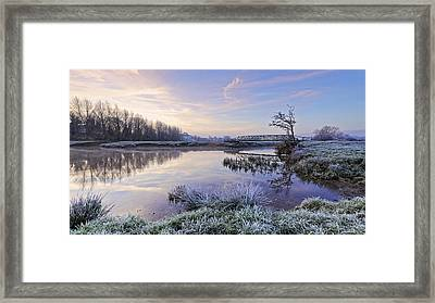Sudbury Water Meadows Framed Print by Ian Merton