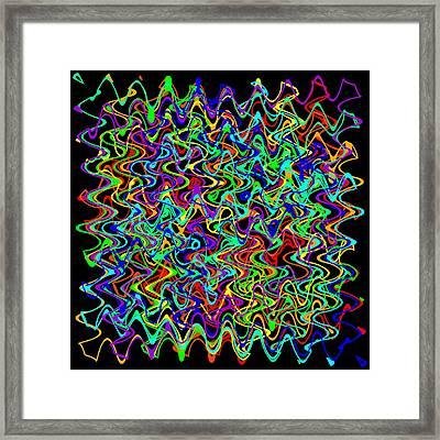 Sudoku2-b Framed Print by Ron Brown