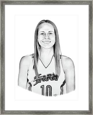 Sue Bird Framed Print