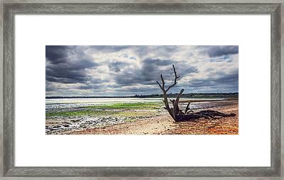 Suffolk Beach Framed Print