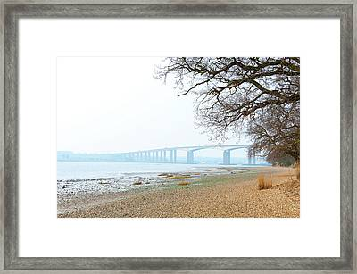 Suffolk Coast Framed Print