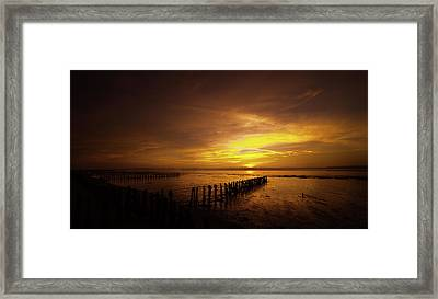 Suffolk Morning Framed Print by Svetlana Sewell