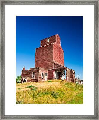 Suffolk Red Framed Print by Todd Klassy
