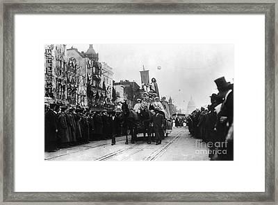Suffrage Parade, 1913 Framed Print by Granger