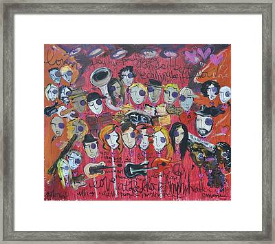Sug At Red Rocks Amphitheater 2010 Framed Print