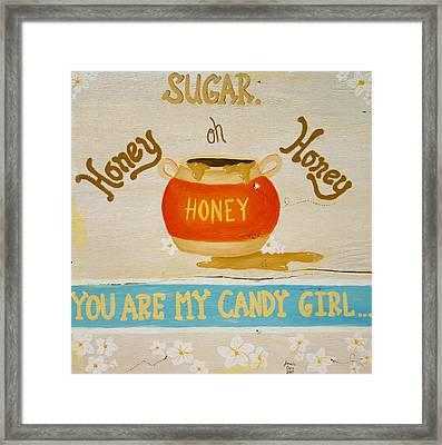 Sugar. Framed Print by Amanda Clark