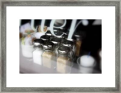 ..sugar And Spice And All Things Nice... Framed Print by Russell Styles