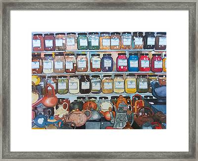 Sugar And Spice Framed Print by Victoria Heryet